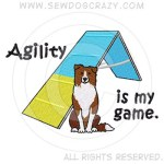 Red Border Collie Agility Shirts