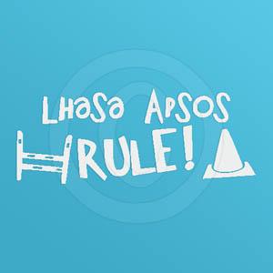 Lhasa Apsos Rule Decal