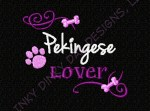 Pekingese Lover Embroidery
