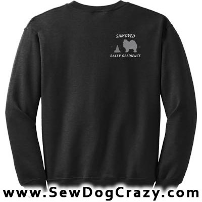 Samoyed Rally Obedience Sweatshirt