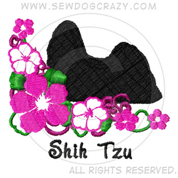 Embroidered Shih Tzu Gifts