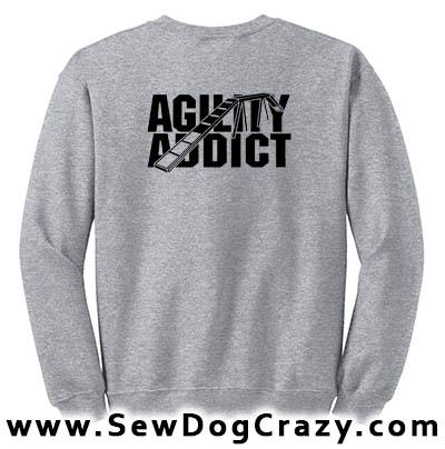 Dog Walk Agility Addict Sweatshirt