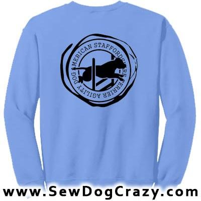 American Staffordshire Terrier Agility Sweatshirt