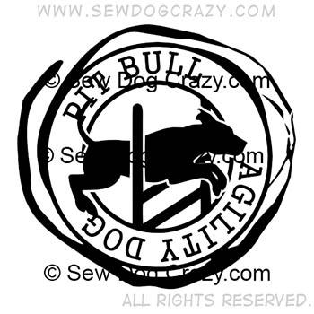 Pit Bull Agility Shirts