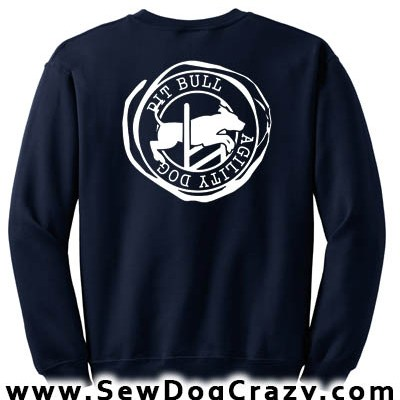 Pit Bull Agility Sweatshirt