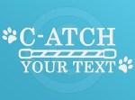 Customized C-ATCH Agility Decal