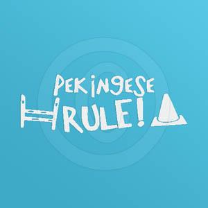 Pekingese Rule Decals