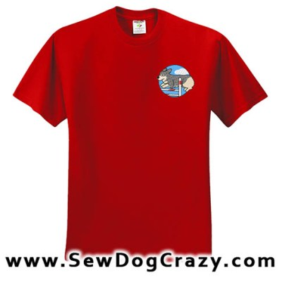 Swedish Vallhund Agility Tshirt