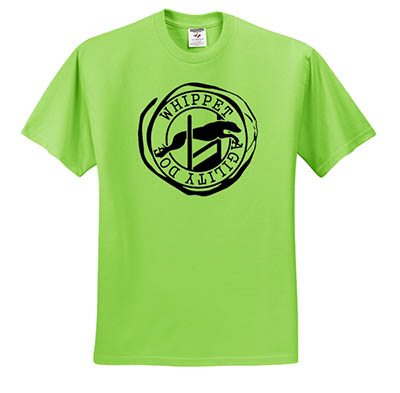 Whippet Agility Tshirt