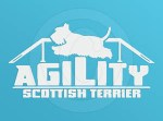 Scottish Terrier Agility Obstacle sticker