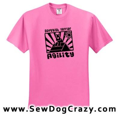 Scottish Terrier Agility A-Frame TShirt
