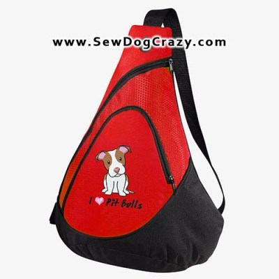 Cartoon Pit Bull Bag