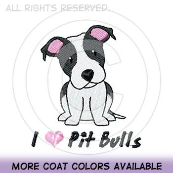 Cartoon Pit Bull Tees
