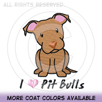 Red Nose Pit Bull Apparel