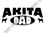 Akita Dad Apparel