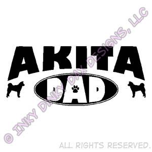 Akita Dad Shirt