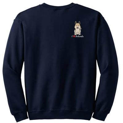 Cartoon Norwegian Buhund Sweatshirt