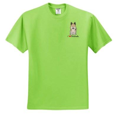 Cute Cartoon Buhund T-Shirt