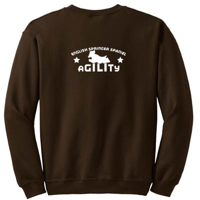 Agility English Springer Spaniel Sweatshirt