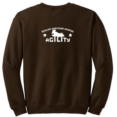 Agility English Springer Spaniel Sweatshirt