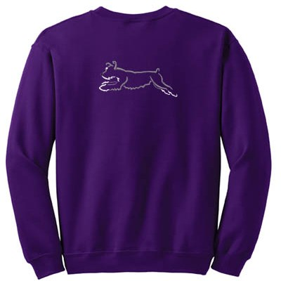 Embroidered Agility Schnauzer Apparel