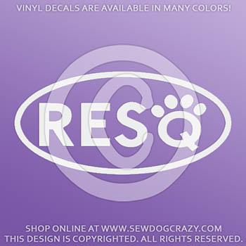 Pet Rescue Vinyl Stickers