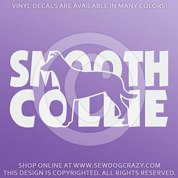 Vinyl Smooth Collie Decals