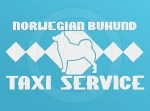Norwegian Buhund Taxi Decal
