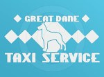 Great Dane Taxi Vinyl Stickers
