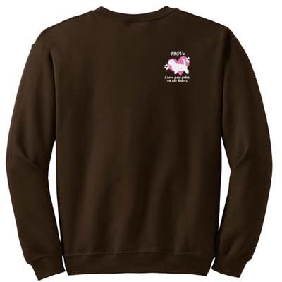 PBGVs Leave Paw Prints On Our Hearts Sweatshirt