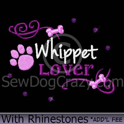 Whippet Rhinestones Shirt
