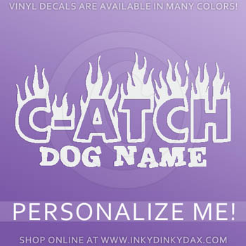 Custom CATCH Vinyl Decals