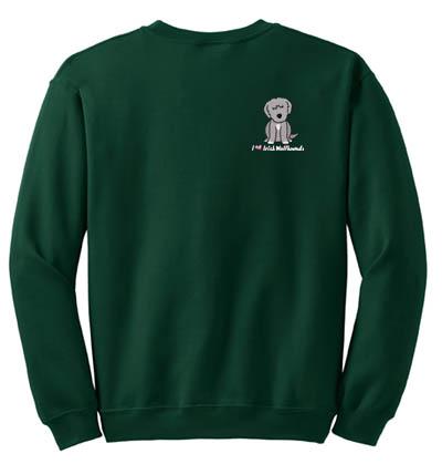 Cartoon Irish Wolfhound Sweatshirt