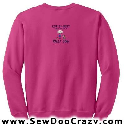 Life is Great Rally Sweatshirt