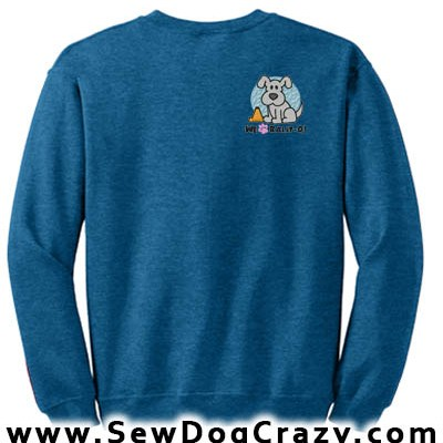 Embroidered Rally-O Sweatshirt