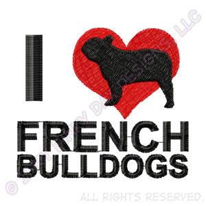Love French Bulldogs Gifts