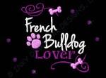 French Bulldog Rhinestones Apparel
