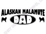 Malamute Dad Apparel