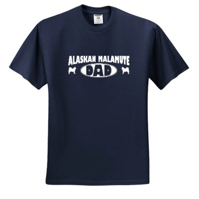 Cool Malamute Dad Shirt