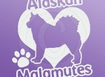 I Love Alaskan Malamutes Sticker