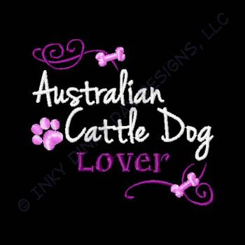 Pretty Australian Cattle Dog Apparel