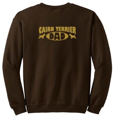 Cairn Terrier Dad Sweatshirt