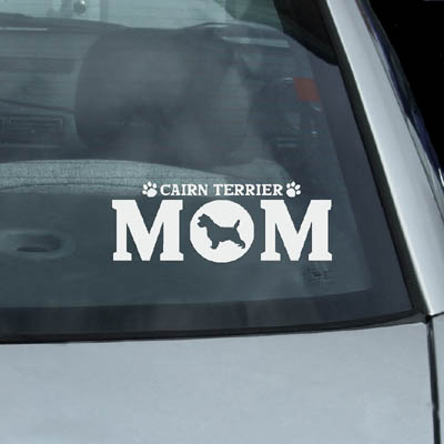 Cairn Terrier Mom Decals