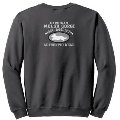 Cardigan Welsh Corgi Agility Sweatshirt