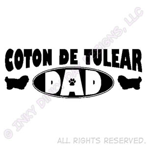 Coton de Tulear Dad Gifts
