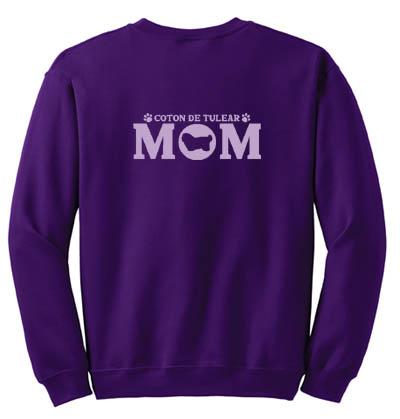 Coton de Tulear Mom Sweatshirt