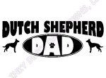 Dutch Shepherd Dad Gifts