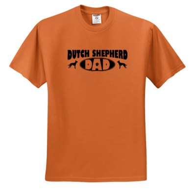 Dutch Shepherd Dad T-Shirt