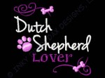 Dutch Shepherd Embroidery