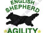 English Shepherd Embroidered Apparel